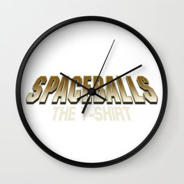 Spaceball Wall Clock