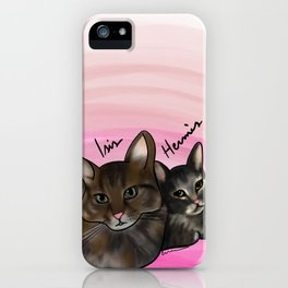 Isis and Herme iPhone Case