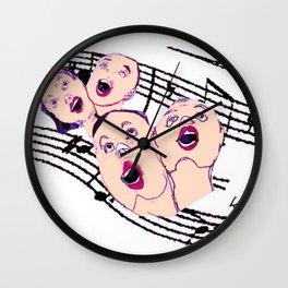 CHORAL SOCIETY           by Kay Lipton Wall Clock