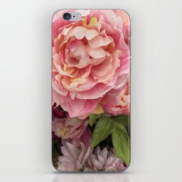 Oil Paint Flower iPhone Skin