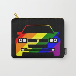 Delta Integrale Rainbow Stripes Carry-All Pouch