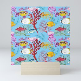 Coral Reef - All Together Water Mini Art Print