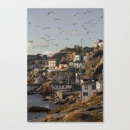 The Battery, St. John's, Newfoundland Canvas Print