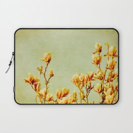 wednesday's magnolias Laptop Sleeve