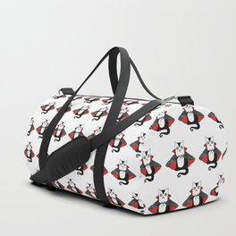 Vampire Cat – Dracula suit Duffle Bag