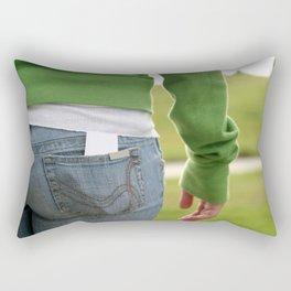Butt Rectangular Pillow