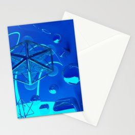 3d Metatron`s Cube Stationery Cards