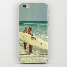 Girls of summer iPhone & iPod Skin