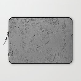 grey painted OSB Laptop Sleeve
