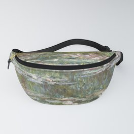 Water Lily Pond (Japanese Bridge) Fanny Pack