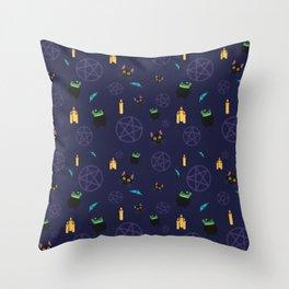 Magickal Throw Pillow