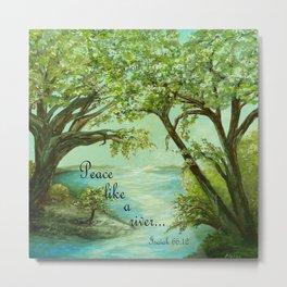 Peace Like a River Metal Print