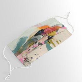 paysage abstract Face Mask