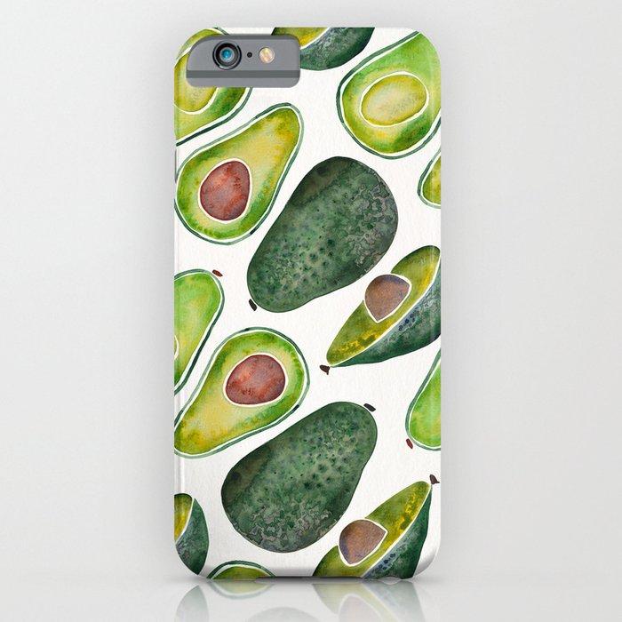 avocado slices iphone case