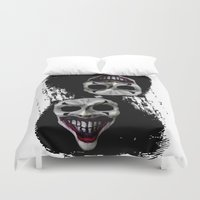 psycho Duvet Covers featuring psycho by arTistn