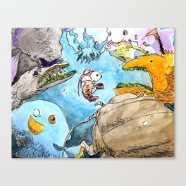 In Too Deep Canvas Print