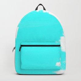 Shiny Turquoise balance Backpack