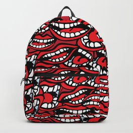 Chatty Pattern Backpack