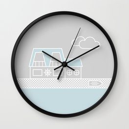 Lagoon House Wall Clock