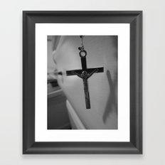 Jesus. Framed Art Print