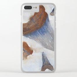 Sharks Teeth Clear iPhone Case