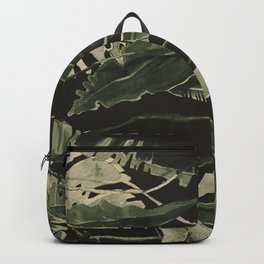 Topical Night Nature Backpack