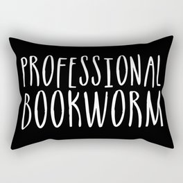 Professional bookworm - Inverted Rectangular Pillow