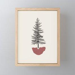 Fir Pine Framed Mini Art Print
