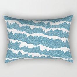 The Waves Rectangular Pillow