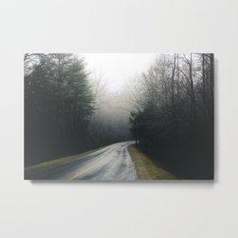 The Great Smoky Mountain Fog Metal Print