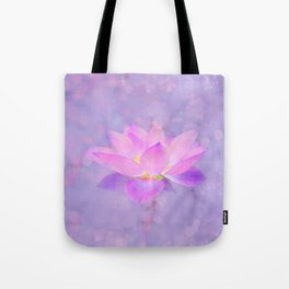 Lotus Emerging from the Water Tote Bag