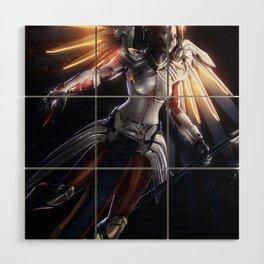 Mercy v2 Wood Wall Art