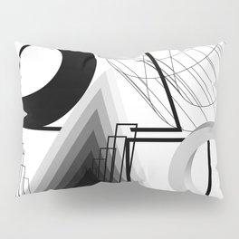 History of Art in Black and White. Bauhaus Pillow Sham