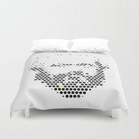 marx Duvet Covers featuring Marx in Dots by The Sound of Applause