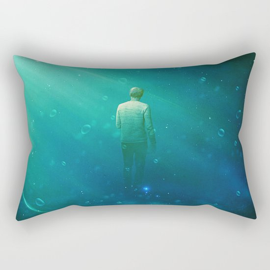 From here to where Rectangular Pillow