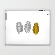 Silence Is Golden Laptop & iPad Skin