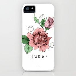 June iPhone Case