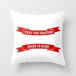 street drag racing tee cars and truck show cars racer gift Throw Pillow