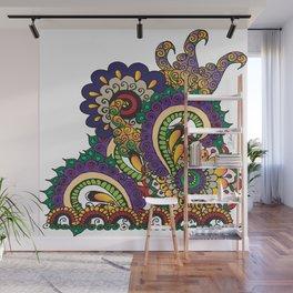 Hello 70s! Corally Wall Mural