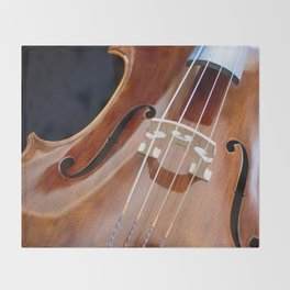 Cello Admiration Throw Blanket