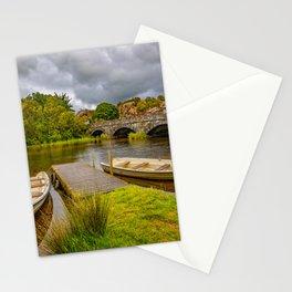 Padarn Lake Bridge Llanberis Stationery Cards
