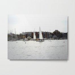 The Harbor, Annapolis - View II Metal Print