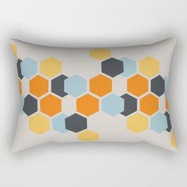 Sam (Beige) Rectangular Pillow