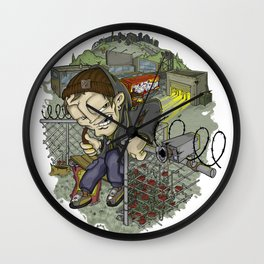 Adrenaline Rush (Elements Of Graffity series) Wall Clock