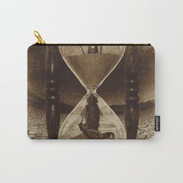 Sands of Time ... Memento Mori - Sepia Carry-All Pouch