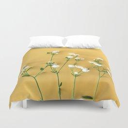 Yellow summer | Flower Photography Duvet Cover