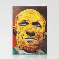 pablo picasso Stationery Cards featuring Pablo Picasso by Smith Smith