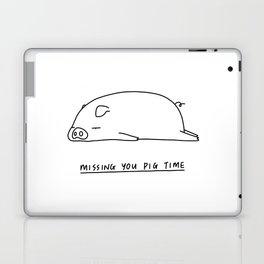 Missing you pig time Laptop & iPad Skin