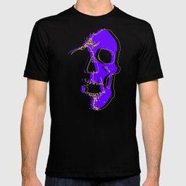 Skull - Purple T-shirt