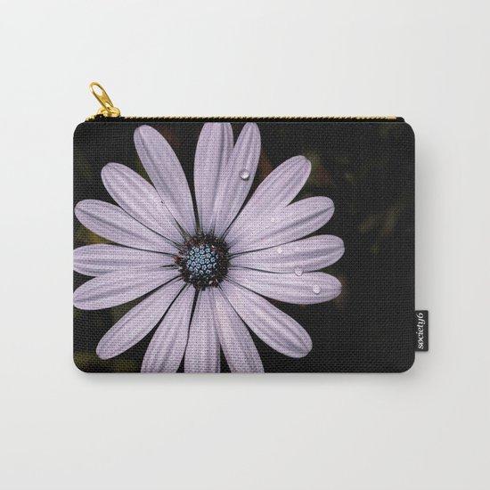Daisy Mauve Carry-All Pouch